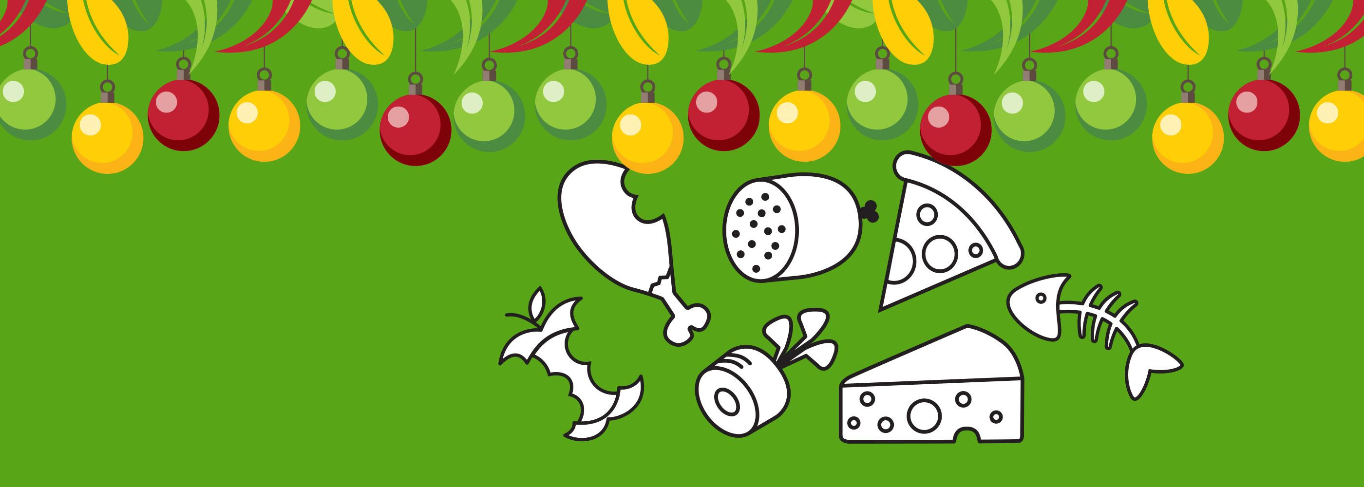 NAWMA Festive Season Tips - Food Scraps