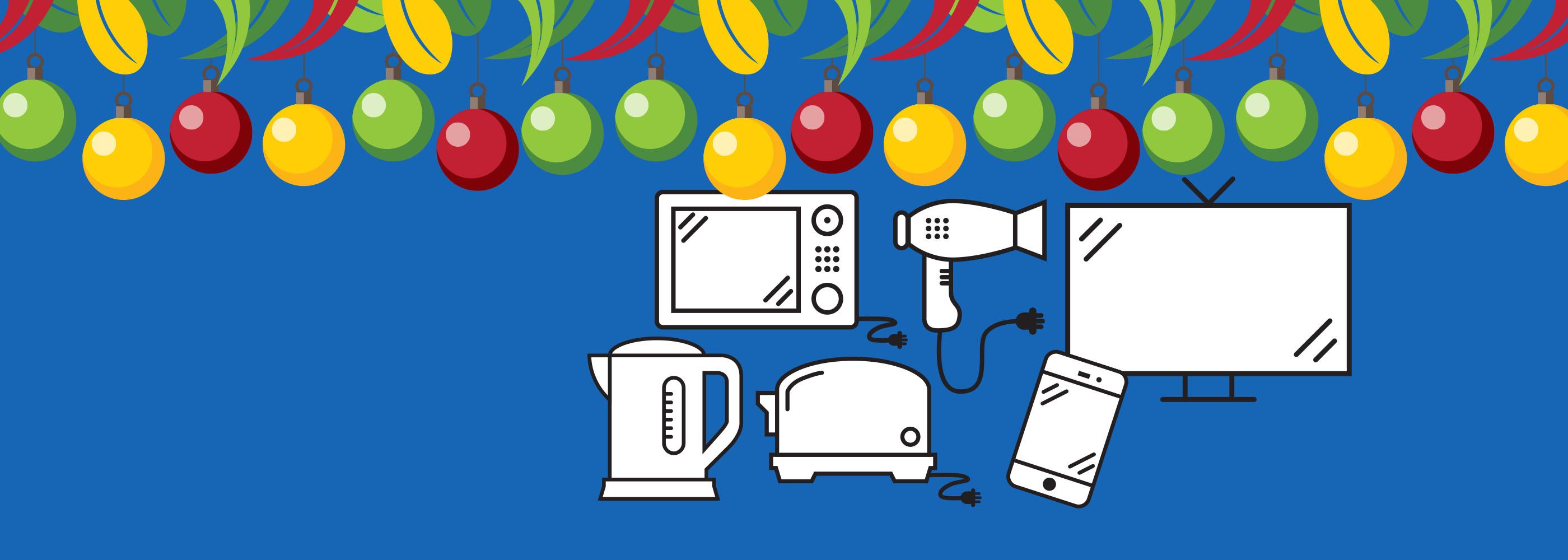 NAWMA Festive Season Tips - E-waste