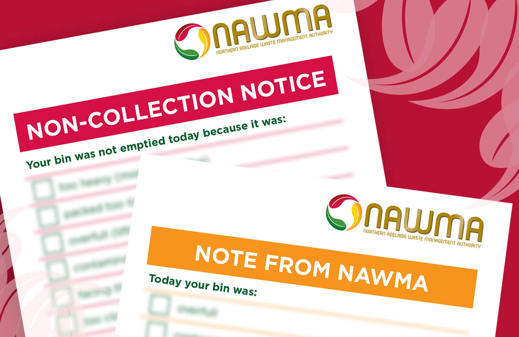 NAWMA - Was your bin stickered?