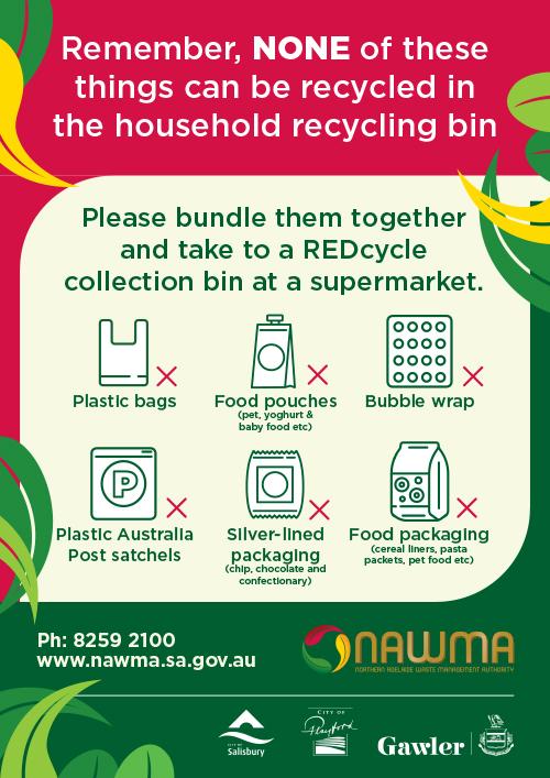 NAWMA Recycling Soft Plastics Poster