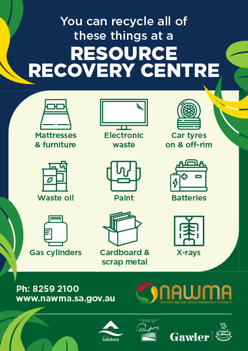 NAWMA Resource Recovery Centre Poster