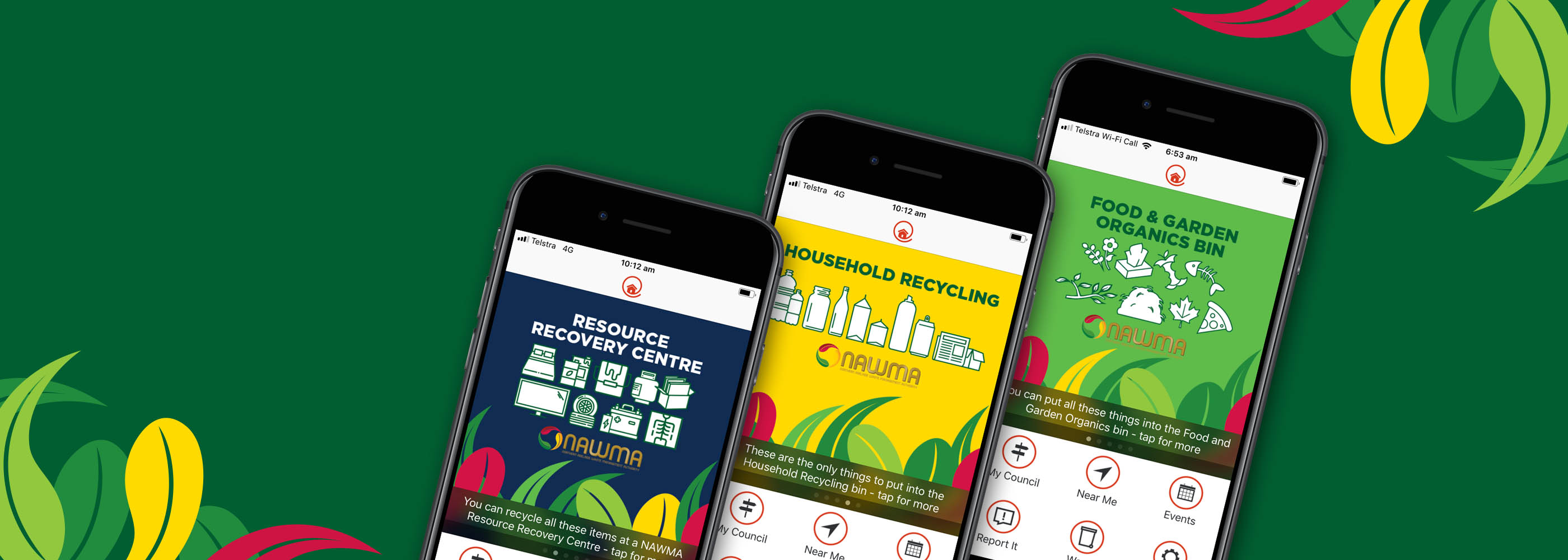 NAWMAs new waste and recycling app