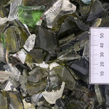 Recovered glass fines