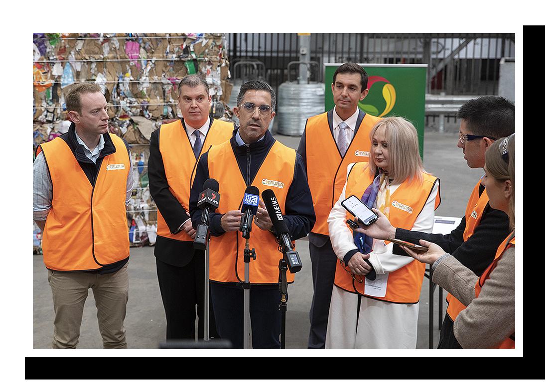 NAWMA $8 Million Paper Polishing Plant Grant Announcement